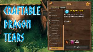SKK Craftable Dragon Tears Banner